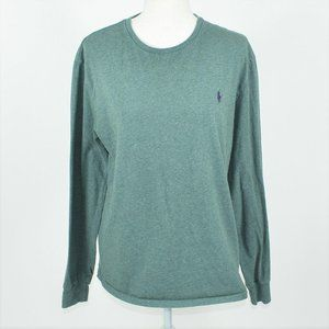 Ralph Lauren Polo green long sleeve minimal shirt